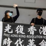 Hong Kong Protest Slogans Break China's New Security Law: Government
