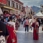 Chinese Tourists Crowd Lhasa Holy Sites, Tibetans Barred From Entry